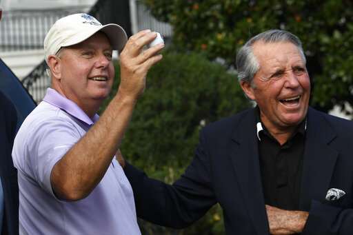 Lindsey Graham, Gary Player