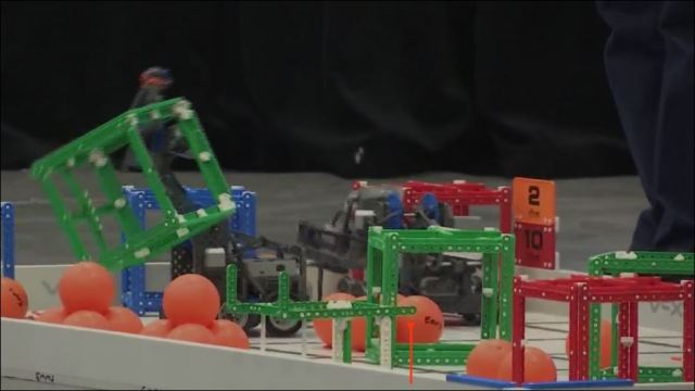 VEX Robotics Competition brings exciting engineering challenges