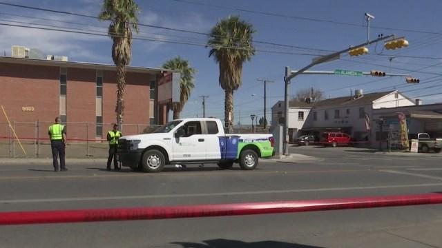 Man hit by City of El Paso vehicle on Alameda dies from injuries