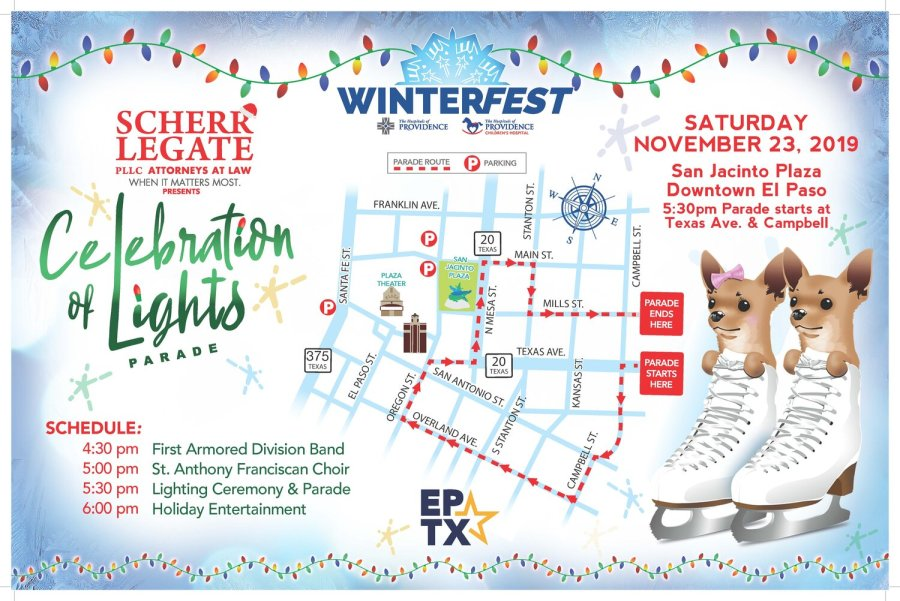 El Paso Christmas Parade 2020 What to know before the WinterFest Celebration of Lights and