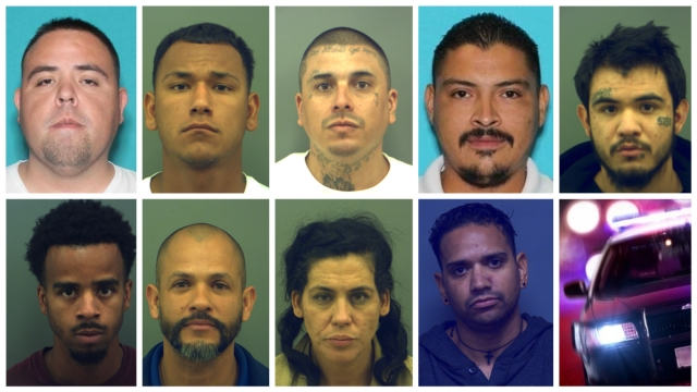 Most Wanted Fugitives for January 19