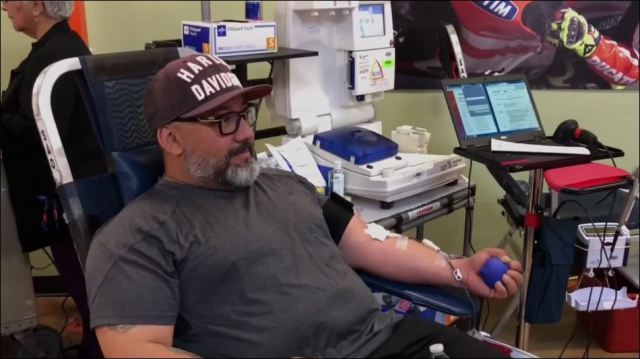 Annual Barnett Harley Davidson blood drive draws hundreds of El Pasoans