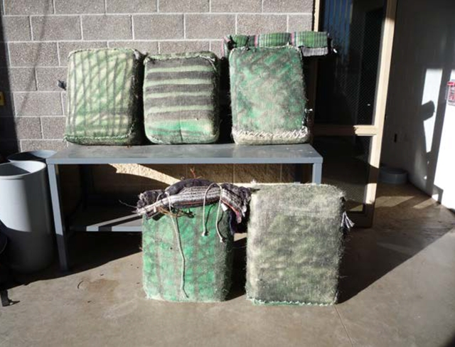 Border Patrol agents find about 800 pounds of marijuana in four days