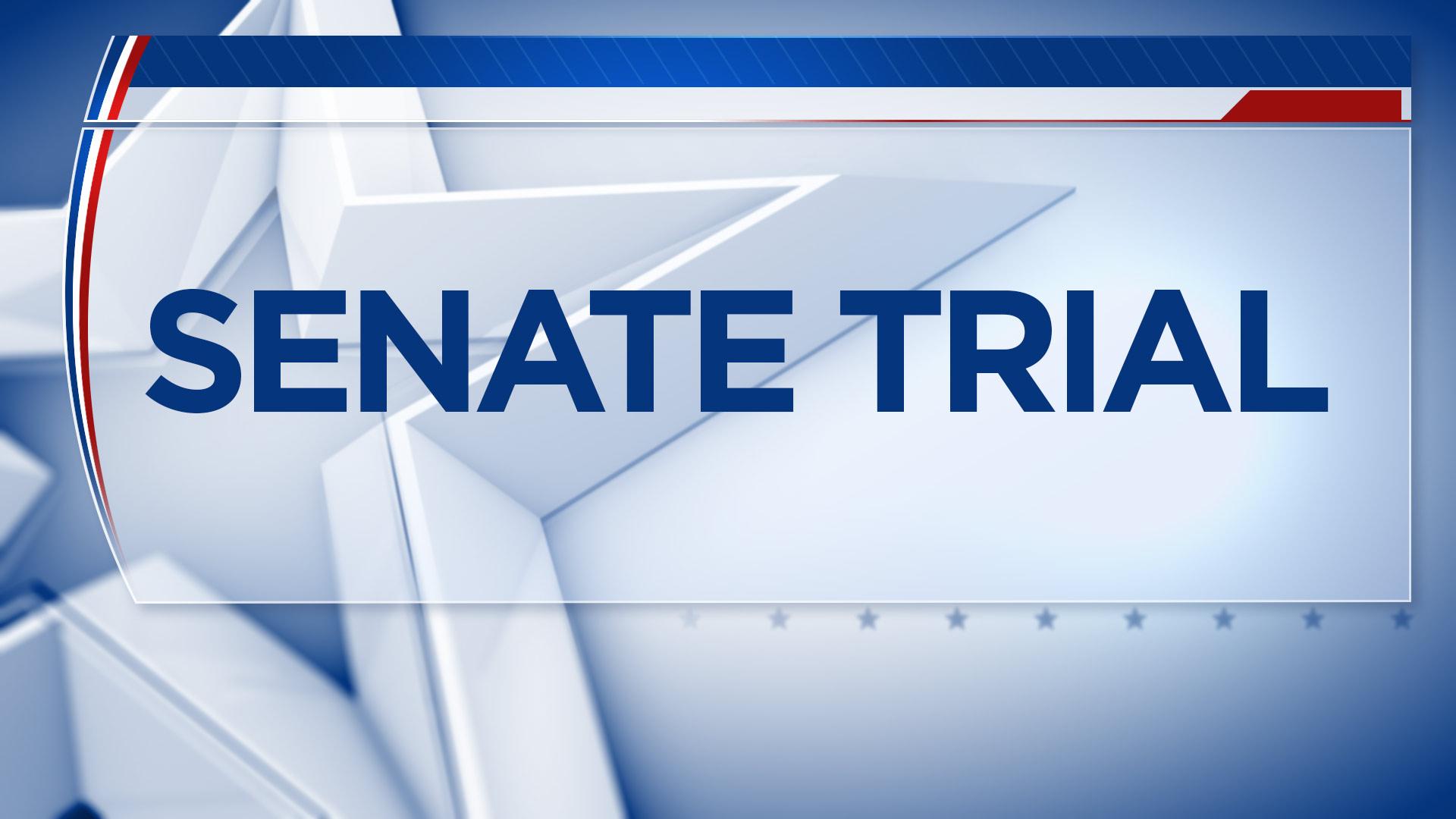 Trump impeachment trial: Senate to debate rules ...