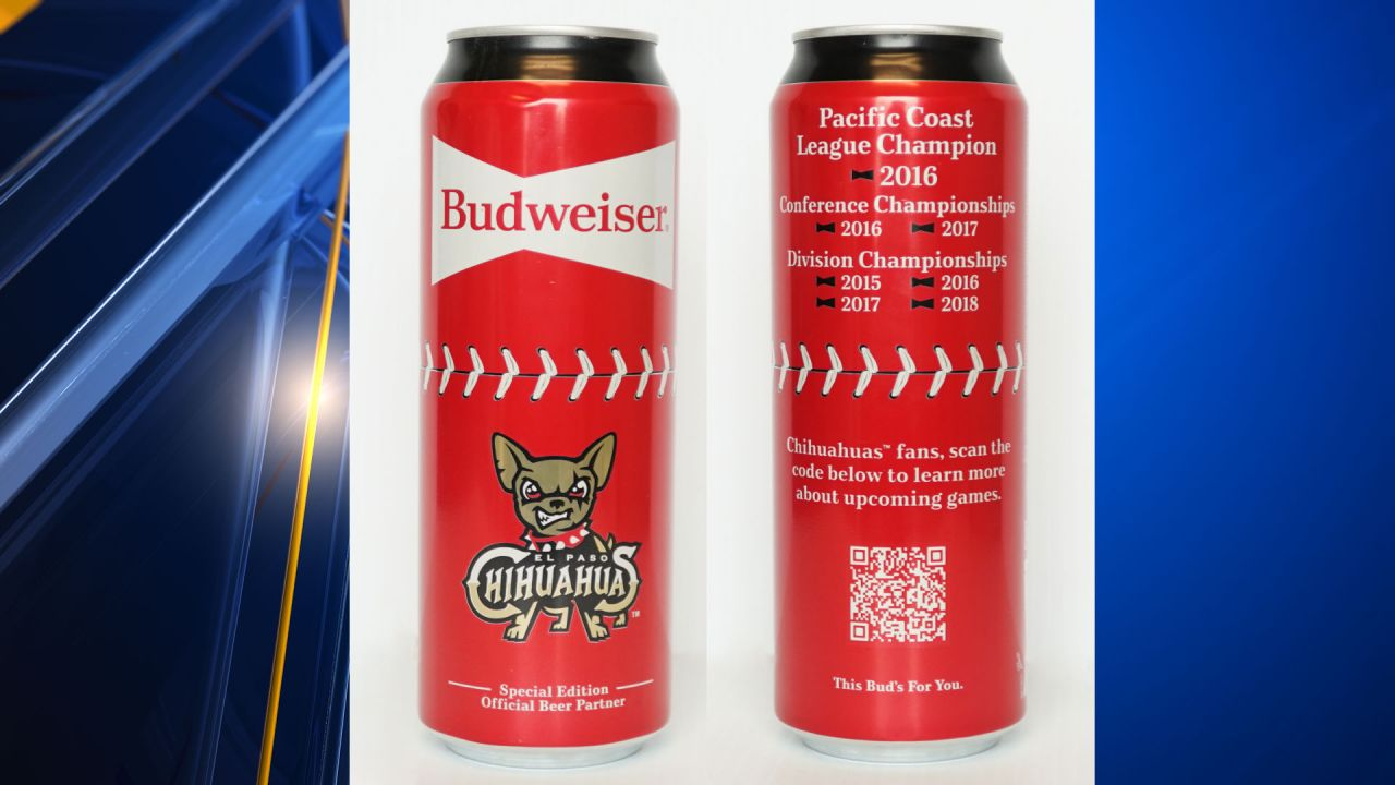 Budweiser releasing can featuring the Chihuahuas logo