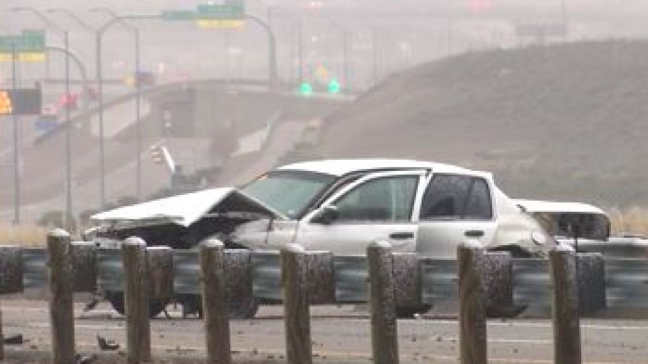 Vehicle hits firefighter responding to West El Paso crash