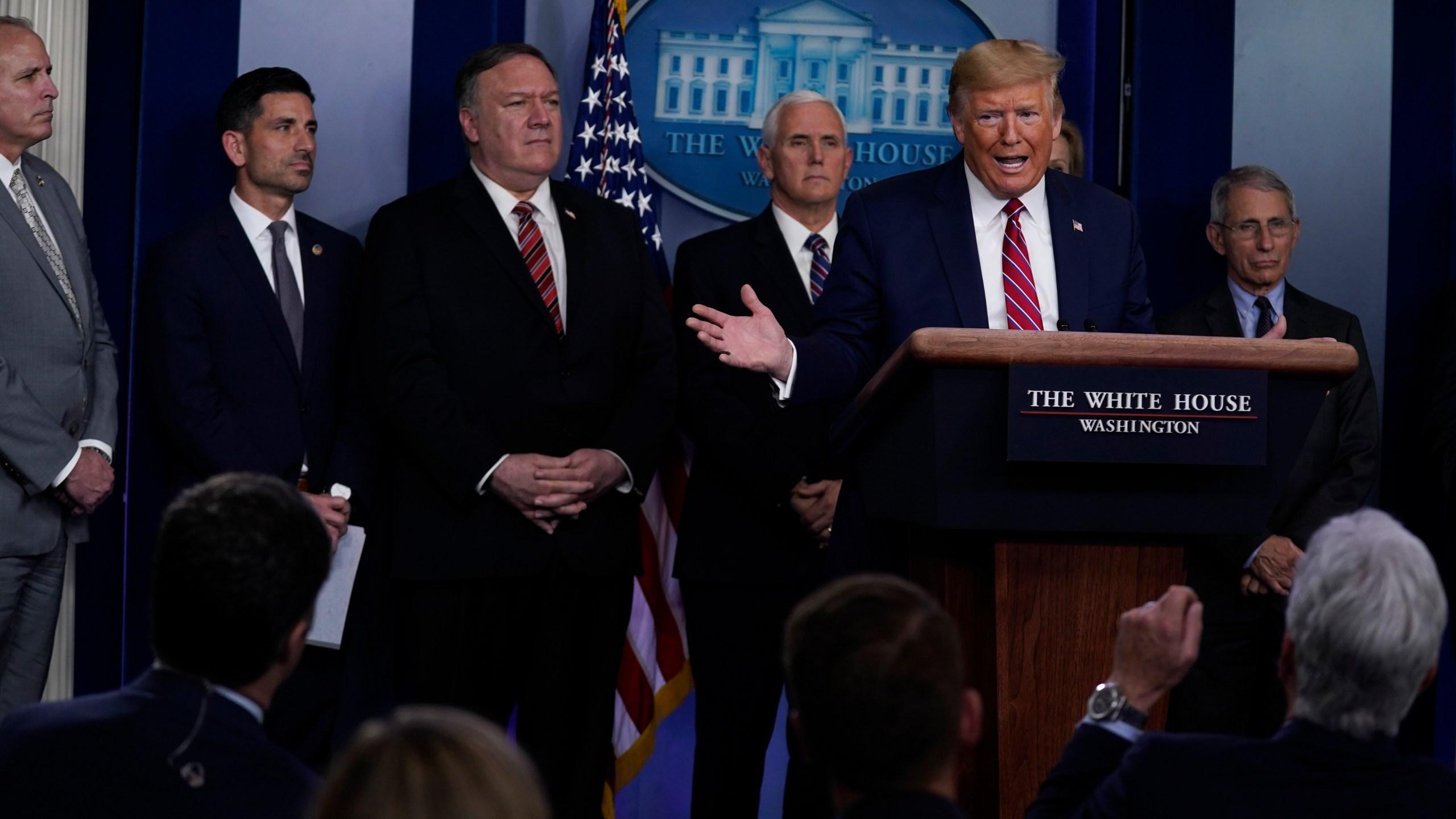 Trump uses daily coronavirus briefing to attack reporter – KTSM 9 News