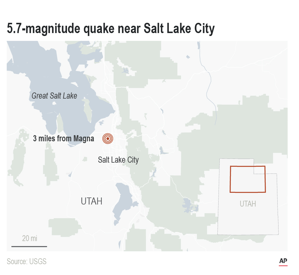 Utah Earthquake