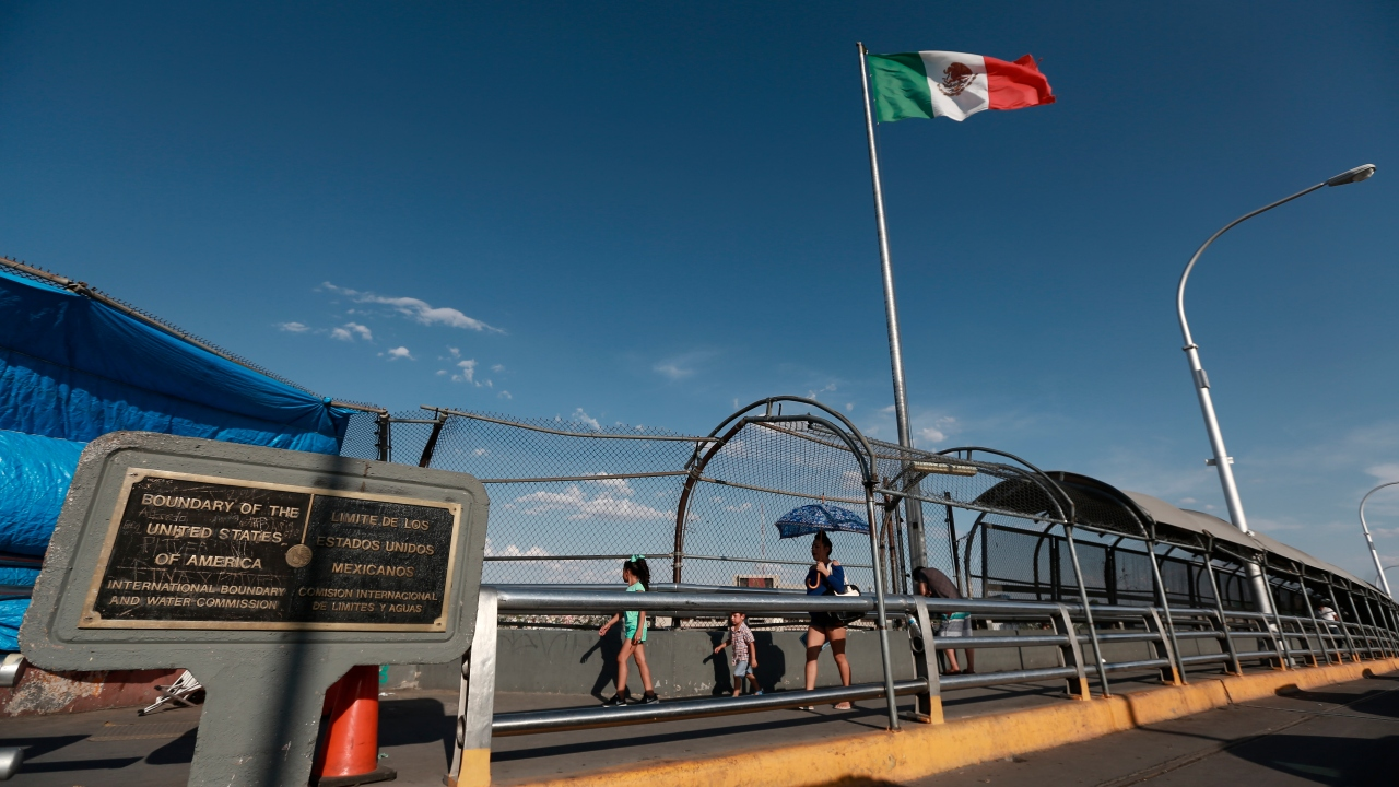 Report: Border traffic rebounding with gradual reopening of economy