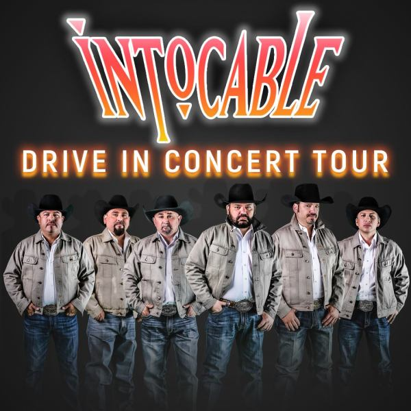 """Intocable Drive-In Tour (Photo taken from Facebook group """"Grupo Intocable"""")"""