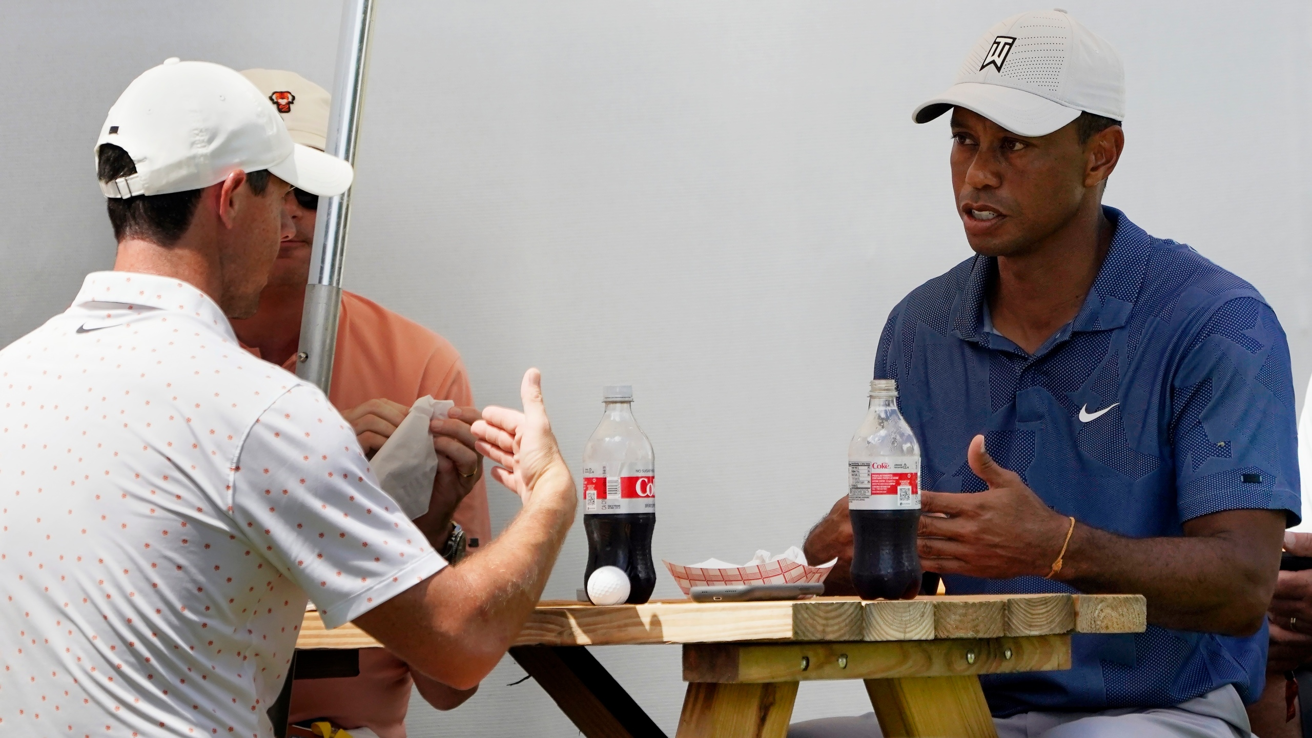 Tiger Woods, Rory McIlory