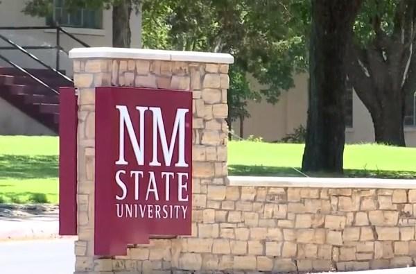 NMSU Sign