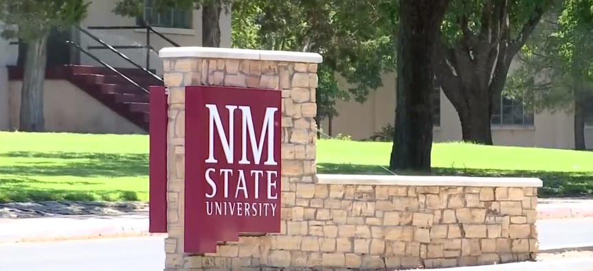 NMSU Sign