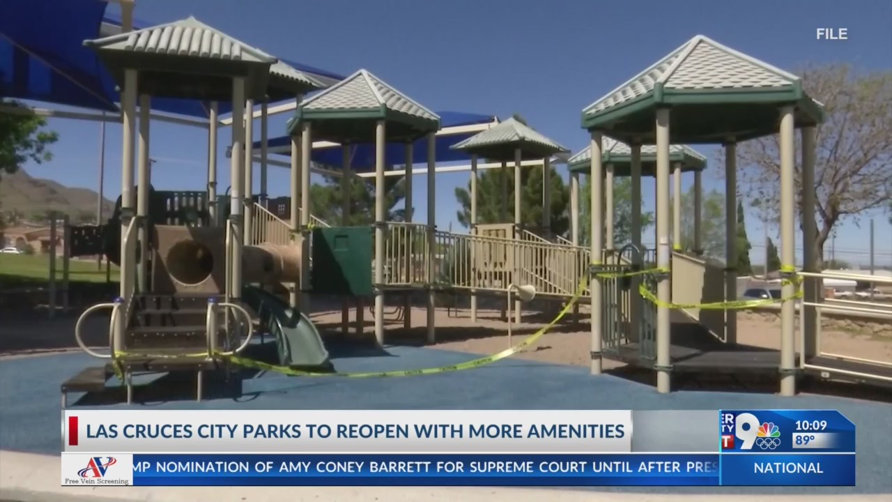 Las Cruces city parks to reopen with more amenities