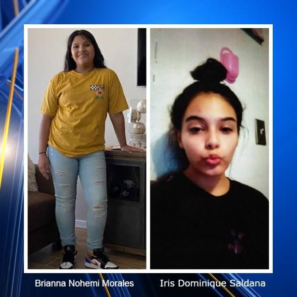 Missing teens_Brianna Nohemi Morales and Iris Dominique Saldana