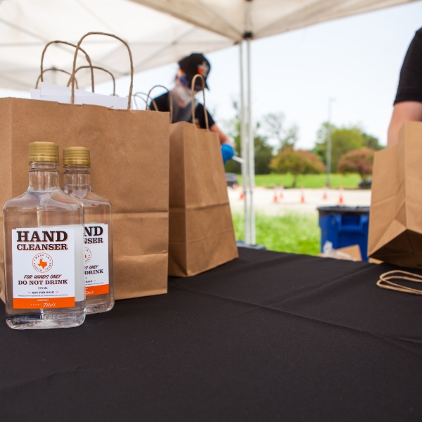 Tito's Hand Sanitizer Giveaway