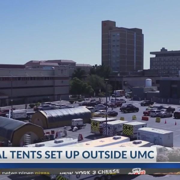 UMC medical tents