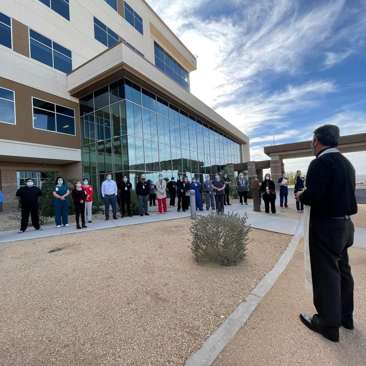 Diocese of El Paso priests to offer blessings to COVID-19 patients and hospital staff