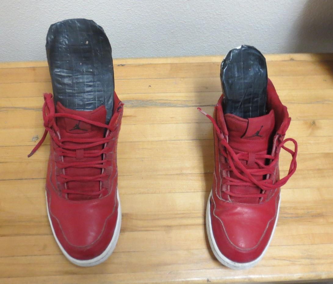 Meth in shoes