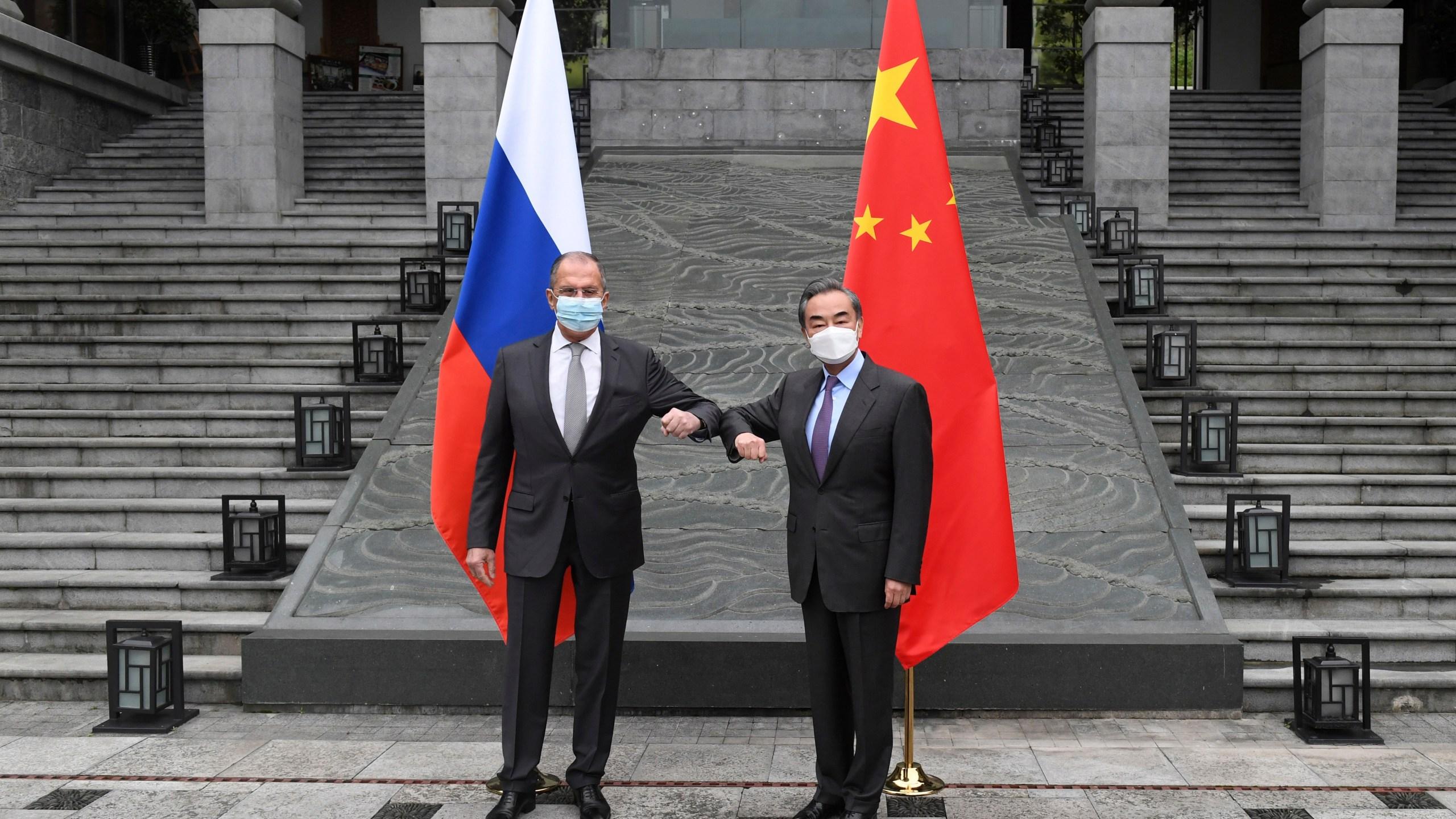 Sergei Lavrov, Wang Yi
