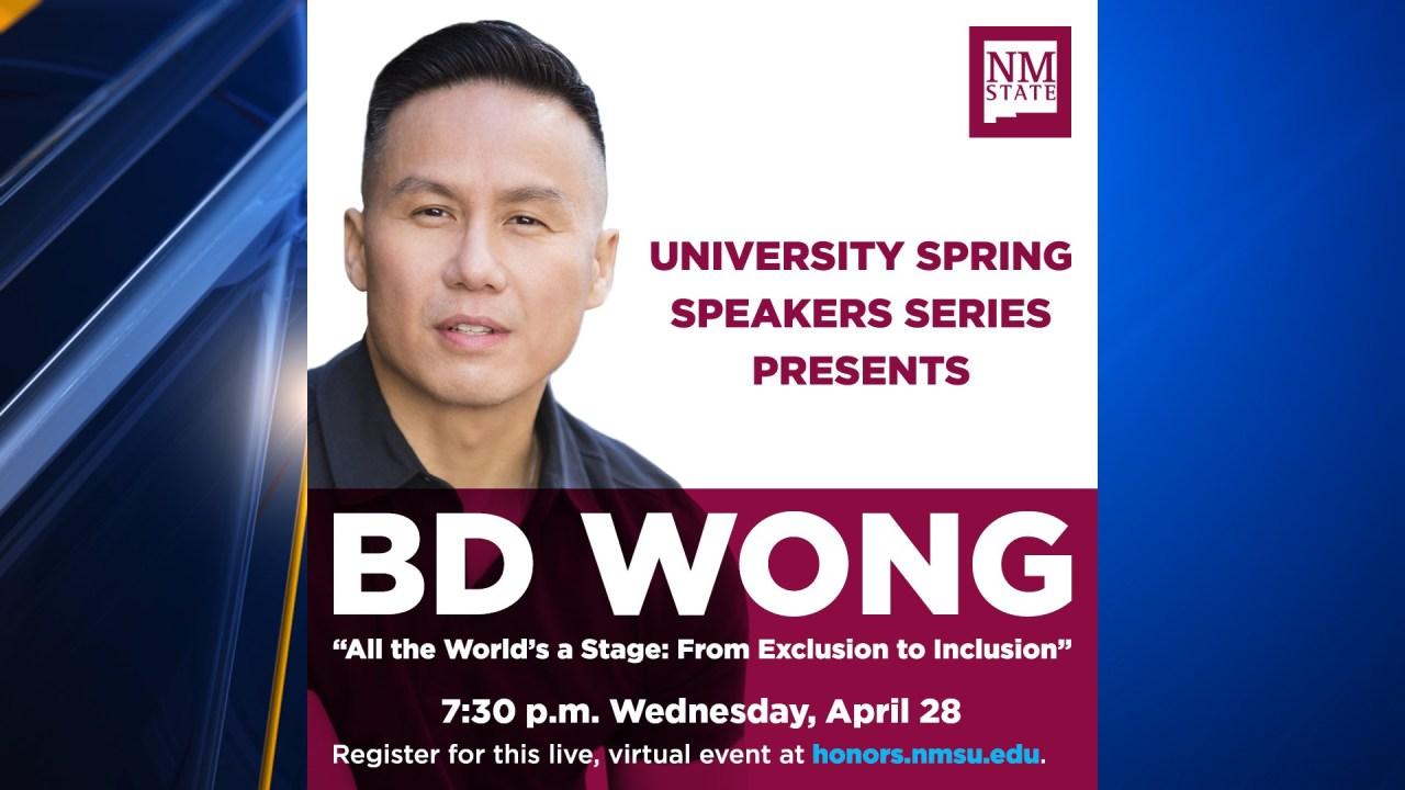 www.ktsm.com: Award-winning actor BD Wong to speak in virtual NMSU event