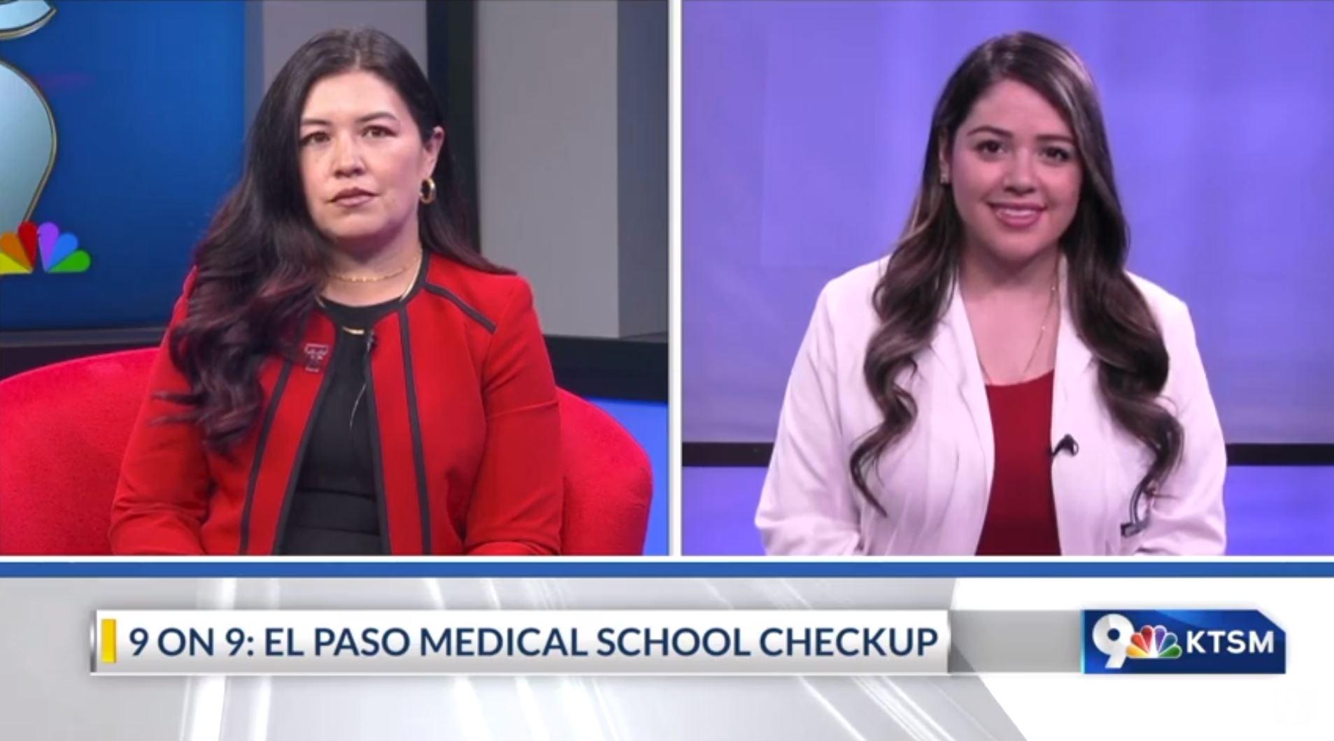 Texas Tech School of Medicine officials discuss medical needs in El Paso.