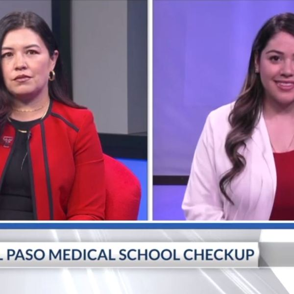 Texas Tech School of Medicine officials discuss medical needs in El Paso.