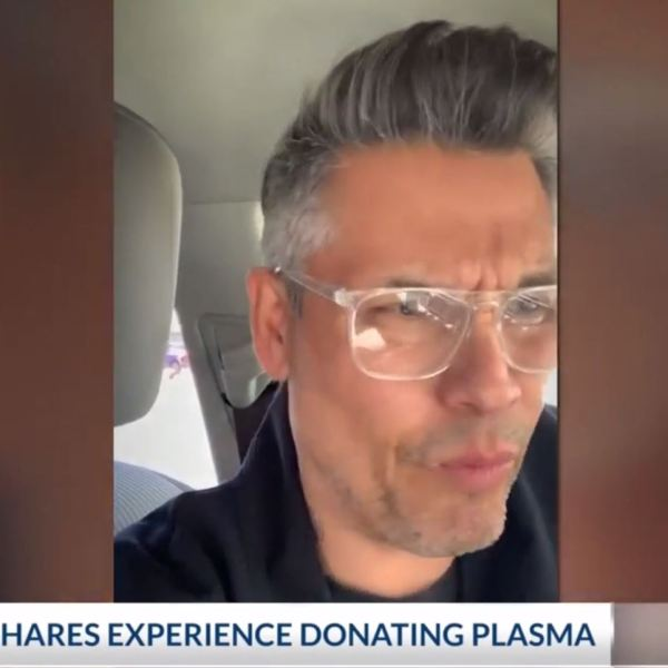 Daniel Hernandez says he experienced discrimination while trying to donate blood.