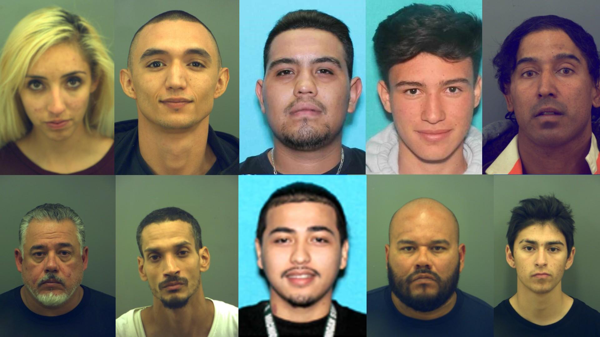 Mugshots for El Paso County's May 16 Most Wanted Fugitives