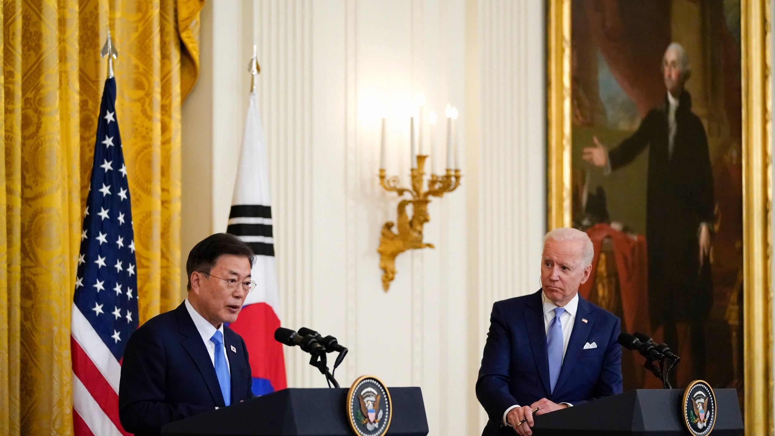 Joe Biden, Moon Jae-in