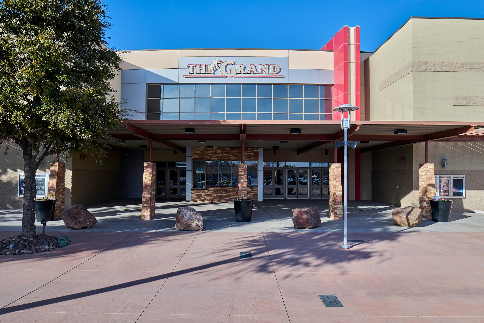 The Grand theatre at Freedom Crossing
