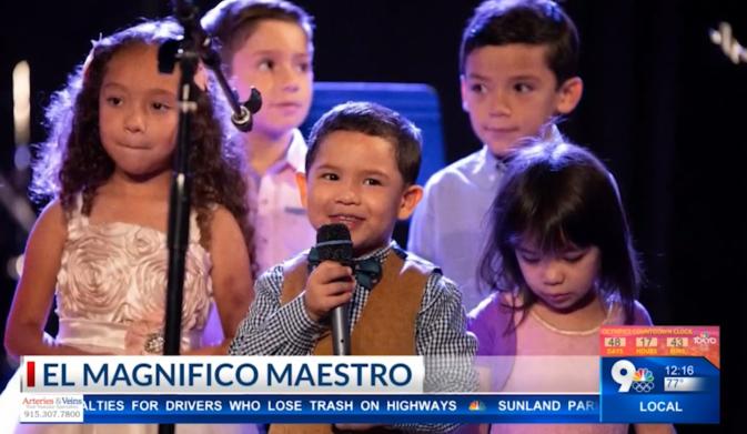 El Magifico Miestro: 7-year-old El Pasoan shocks <b>social</b> media with talent thumbnail