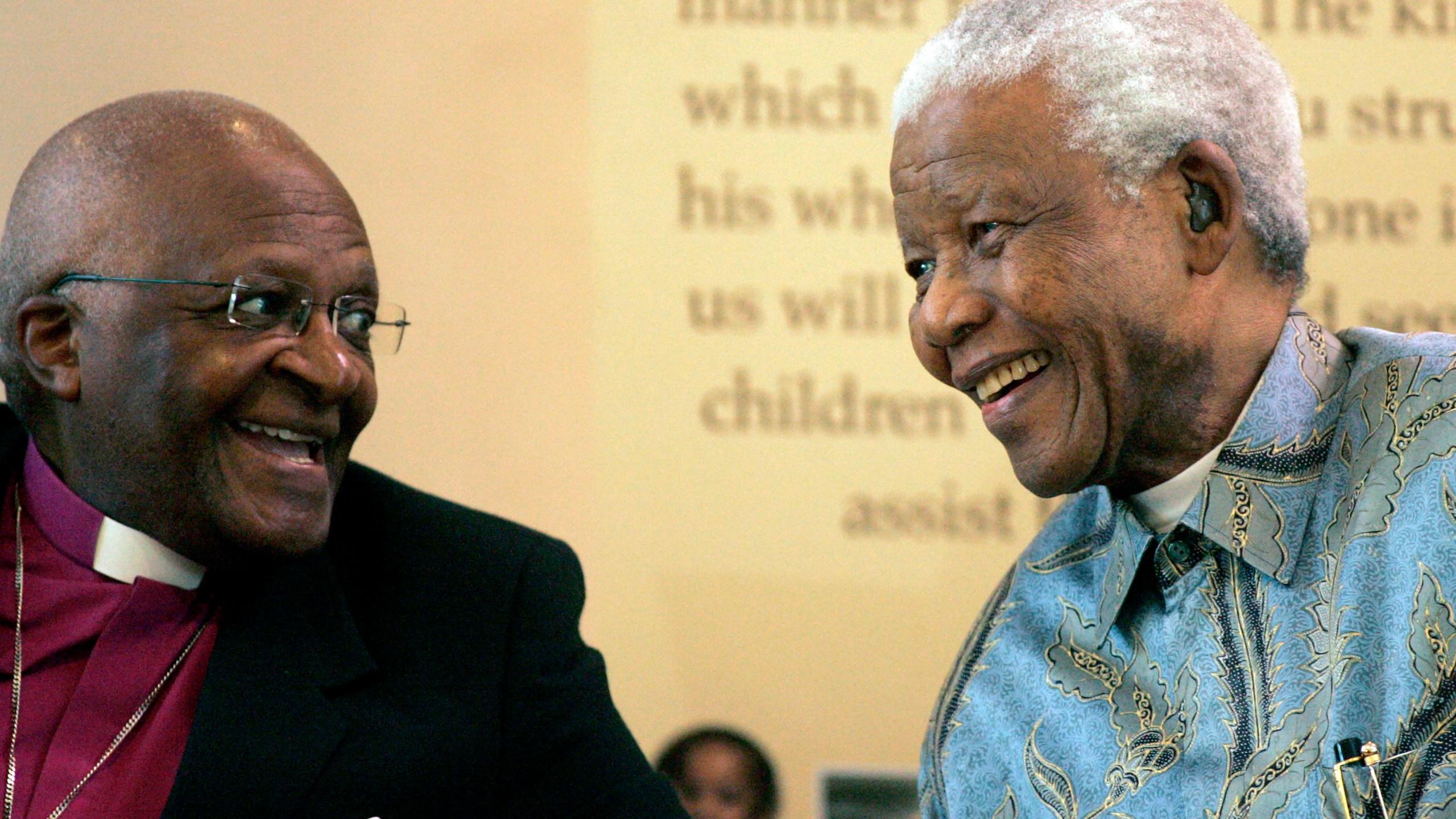Desmond Tutu, Nelson Mandels